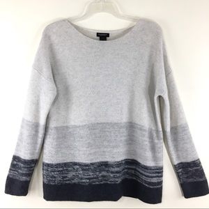 Philosophy long sleeve cashmere pull over sweater